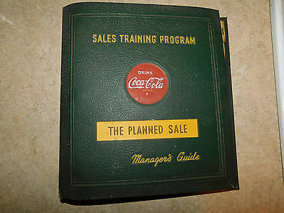 Coca Cola Sales Training Program THE PLANNED SALE Managers Guide