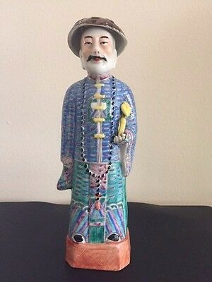 Antique Chinese Religious Inspired Figurine