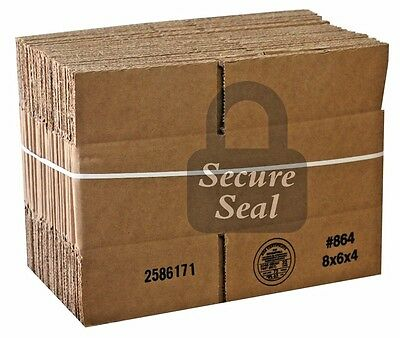 1 SAMPLE 8x6x4 32ect Cardboard Shipping Mailing Moving Packing Corrugated Box