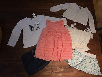 Baby Gap (size 12-18m) and Janie and Jack (2T) lot of 6