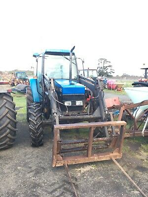 Tractor Loader New Holland, Ford 5640