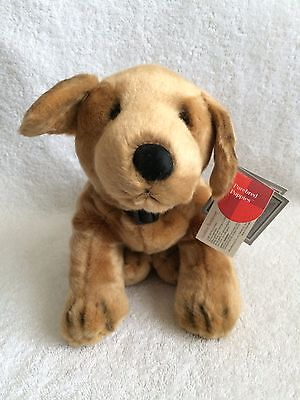 """Golden Retriever Plush Animal 12"""" Made By Russ VERY SOFT!  NEW w/Tags!"""