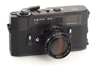 Leica M5 black Dummy !!!NON WORKING DISPLAY MODEL!!! // 29837,1