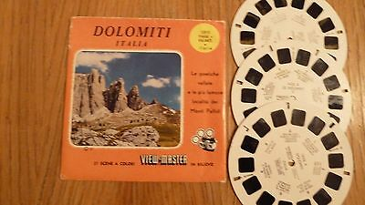 Viewmaster The Dolomite Mountains (Italy) View Master Italia