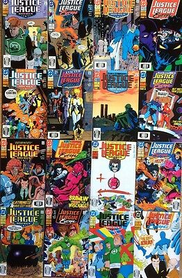 Justice League America #53-60/Europe #29-36: Breakdowns Pt 1-16 (complete run)