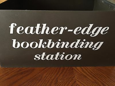 Feather Edge Bookbinding System
