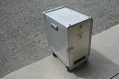 """CRES-COR COMMERCIAL ELECTRIC  FOOD WARMER HOLDING CABINET ON CASTER Model 514-2"