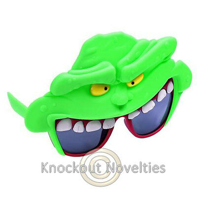 Sun-Staches - Green Ghost Novelty Gift Item