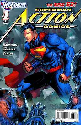 Superman: Action Comics #1 (DC New 52, Jim Lee Retailer Variant) First Print