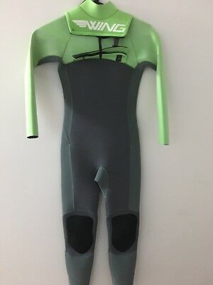 As New Kids  Wet Suit, Size 8. Wings Brand And Zipper Front , Like New