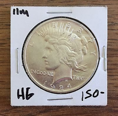 1924 peace dollar (Free combined shipping)