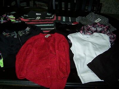 Large Lot S (6/6X)~Dress~Sweater~jacket~Tops~Pants~NWT #8
