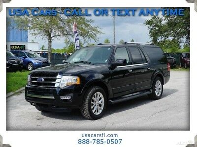 2017 Ford Expedition Limited 2017 Ford Expedition EL Limited 4WD 3.5L TWIN TURBO V6 NAVI CAMERA LEATHER W/HEA