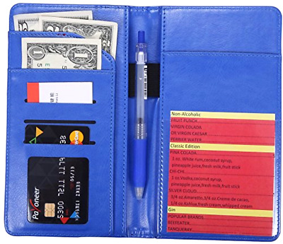 Waiter Book Server Wallet Server Pads Waitress book Restaurant Pocket Organizer