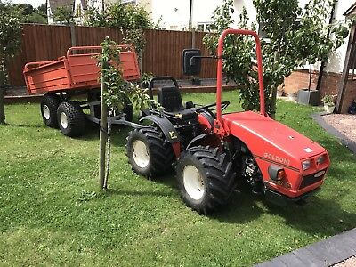 Goldoni Base 20 Compact Alpine Forestry Tractor Artic Steer 4x4