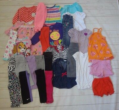 Baby Girl 27 pc. -Mixed Clothing Lot -Size 12 months