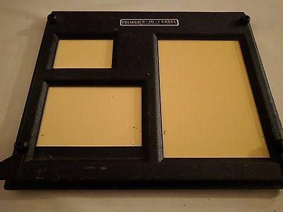 Vintage 4-In-1 Photography Darkroom Enlarging Easel Premier