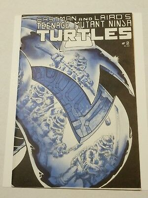 🐢TMNT 2 First Print,higher grade!Check out my other KEY books!🐢