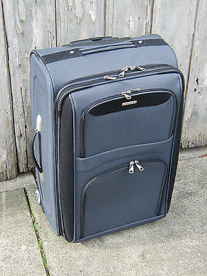 Trolley Suitcase Grey Lanza brand