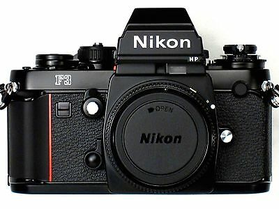 *** NEW *** NEVER USED *** Nikon F3HP 35mm SLR Professional Camera S/N 196XXXX