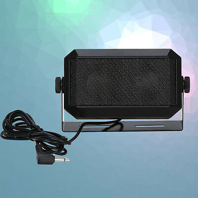 RoadPro RPSP-15 Taxi External CB Radio Audio Speaker 3.5mm Plug Noice-Cancelling