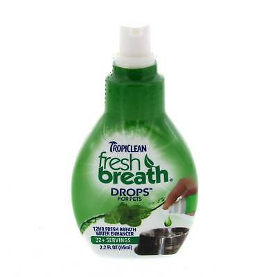 Fresh Breath Drops For Pets Concentrate 65ml Tropiclean