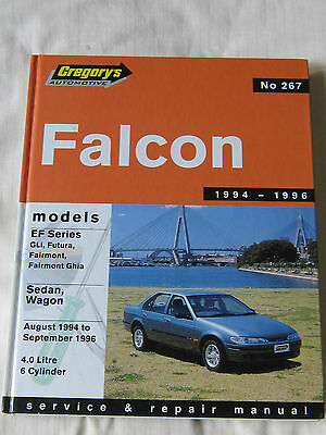 Ford Falcon 1994 to 1996 Service and Repair Manual Gregory's isbn 0855667567