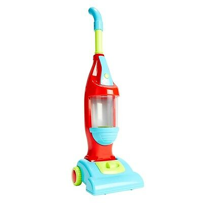 Vacuum Cleaner Play Toy Pretend Kids Toy Plastic Helper W/ Sounds Light Up