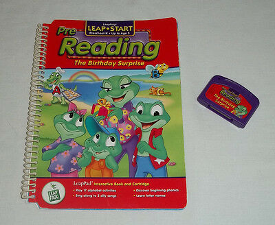 LeapFrog LeapPad Book & Cartridge - The Birthday Surprise (Pre Reading to Age 5)