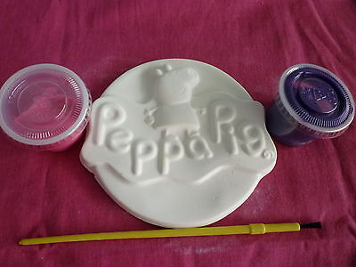 Peppa Pig Plaster Mould For Painting