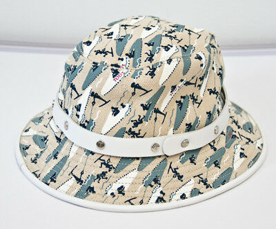 Tods Canvas Beige Printed Medium Hat 7870561