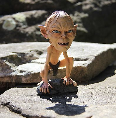 Gollum Lord of the Rings Smeagol The Hobbit Bobble Head Knocker