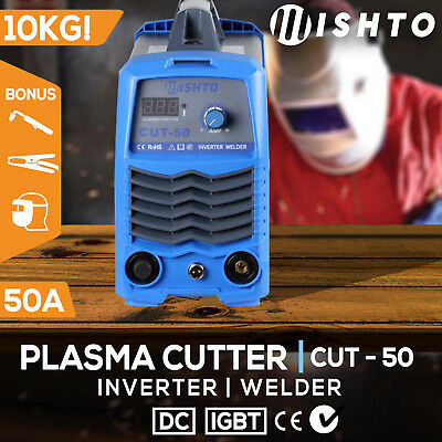 NEW Mishto Plasma Cutter  50A DC IGBT Inverter Welder  Portable Gas/Air Welding
