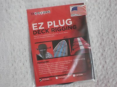 SURFCO HAWAII REGULAR DIAMOND TIP NOSE GUARD NEW OLD STOCK IN PACKAGE BLACK