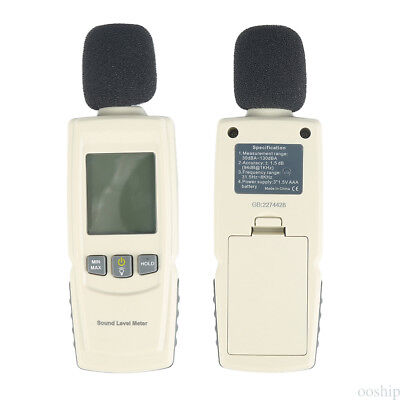 GM1352 30-130dB Digital Sound Level Decibel Meter Noise Tester Measurement #