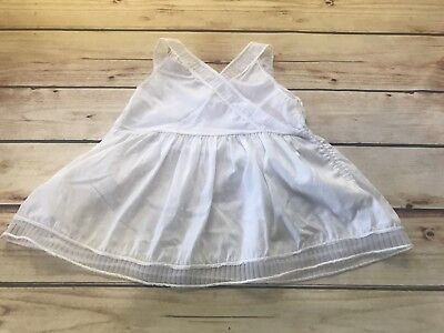 VINTAGE 3-6 Months SLIP GOWN WHITE Lace BABY