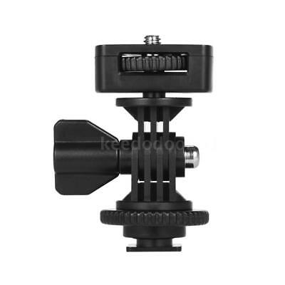 "Universal Hot Shoe Mount Adapter with 1/4"" Screw for Light Video Monitor R3P4"