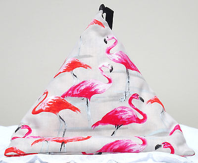 PINK FLAMINGO Resting Pillow for iPad Book Tablet Cushion Stand Bean bag beanbag