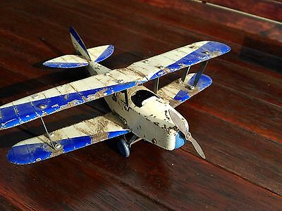 Vintage Pre War  Meccano  Airplane - Tin Plane - Kit Toy 1930s  RARE FIND