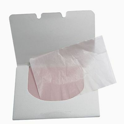 100Sheets/bag Make Up Oil Control Oil-Absorbing Blotting Facial Face Clean Paper