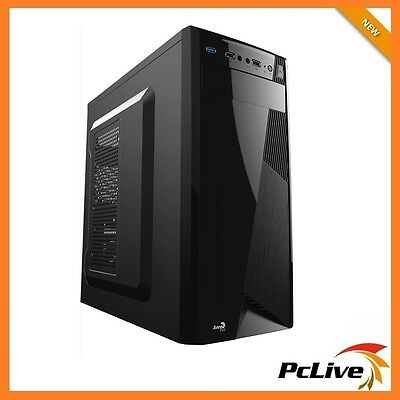 NEW Aerocool Black CS-1101 Advance Mid Tower Case Gaming Quiet USB 3.0 ATX