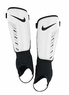 Shin Guard Nike Park Shield Ankle Protection  Sizes Youth  &  Adult White