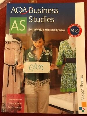 Aqa As Level Business Studies Foden, Mansell And Stimpson