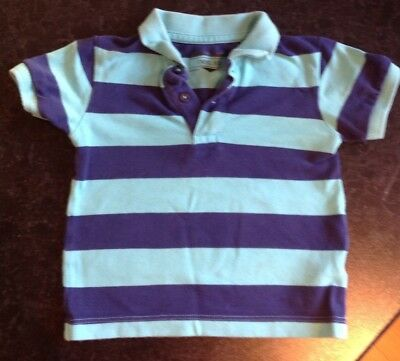 next boys polo shirt 12-18 months