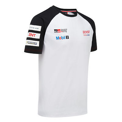 Toyota Gazoo Racing Team T- Shirt - Le Mans - All Sizes - Free Uk Shipping