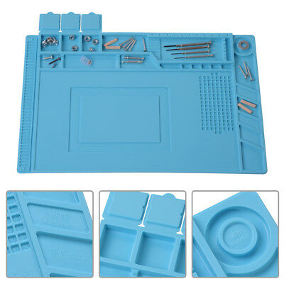 Pro Heat Insulation Silicone Pad Repair Organiser Tray Mat For Apple iPhone DY