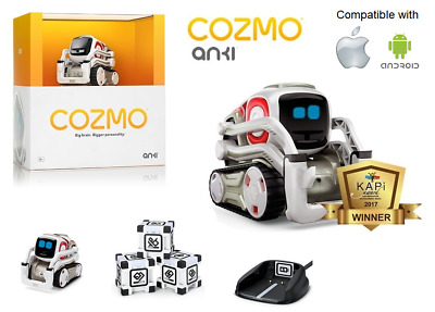 Anki Cozmo Interactive Robot Fun Educational Futuristic Productive STEM AI Toy