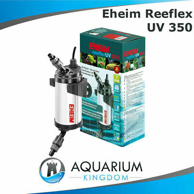 EHEIM reeflexUV 350 7W UV Steriliser/Clarifier - Kill Algae Fish Tank 7 Watt UVC