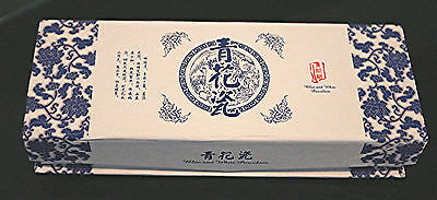 Chinese Blue & White Porcelain & Metal Hook Book mark Brand New Gift