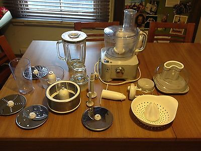 Food Processor Kenwood FP950 complete all accessories